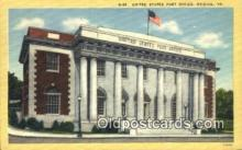 pst001310 - Bristol, VA USA,  Post Office Postcard, Postoffice Post Card Old Vintage Antique