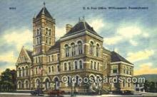 pst001318 - Williamsport, PA USA,  Post Office Postcard, Postoffice Post Card Old Vintage Antique