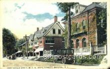 pst001319 - Bristol, RI USA,  Post Office Postcard, Postoffice Post Card Old Vintage Antique