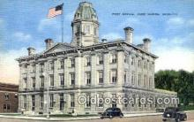 pst001342 - Port Huron, MI USA,  Post Office Postcard, Postoffice Post Card Old Vintage Antique