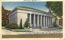 pst001344 - Westerly, RI USA,  Post Office Postcard, Postoffice Post Card Old Vintage Antique