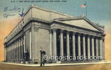 pst001354 - New Haven, CT USA,  Post Office Postcard, Postoffice Post Card Old Vintage Antique