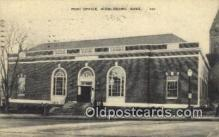pst001357 - Middleboro, Mass USA,  Post Office Postcard, Postoffice Post Card Old Vintage Antique
