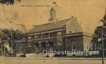 pst001358 - Norwood, MA USA,  Post Office Postcard, Postoffice Post Card Old Vintage Antique