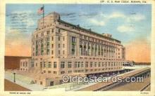 pst001373 - Atlanta, GA USA,  Post Office Postcard, Postoffice Post Card Old Vintage Antique