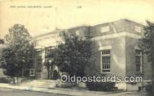 pst001380 - Westbrook, ME USA,  Post Office Postcard, Postoffice Post Card Old Vintage Antique