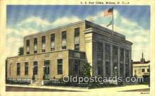 pst001387 - Malone, NY USA,  Post Office Postcard, Postoffice Post Card Old Vintage Antique
