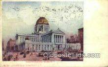 pst001407 - Chicago, IL USA,  Post Office Postcard, Postoffice Post Card Old Vintage Antique