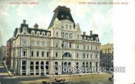 pst001409 - Boston, MA USA,  Post Office Postcard, Postoffice Post Card Old Vintage Antique