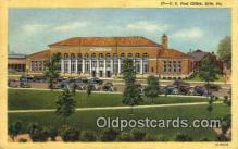 pst001413 - Erie, PA USA,  Post Office Postcard, Postoffice Post Card Old Vintage Antique
