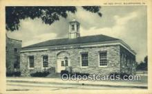 pst001415 - Elizabethtown, PA USA,  Post Office Postcard, Postoffice Post Card Old Vintage Antique