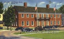 pst001416 - St Albans, VT USA,  Post Office Postcard, Postoffice Post Card Old Vintage Antique