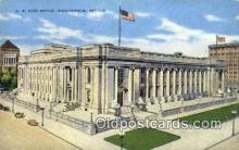 pst001420 - Indianapolis, IN USA,  Post Office Postcard, Postoffice Post Card Old Vintage Antique