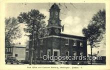 pst001429 - Huntingdon, Quebec,  Post Office Postcard, Postoffice Post Card Old Vintage Antique