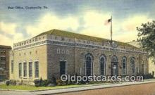 pst001431 - Coatesville, PA USA,  Post Office Postcard, Postoffice Post Card Old Vintage Antique