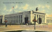 pst001433 - Allentown, PA USA,  Post Office Postcard, Postoffice Post Card Old Vintage Antique