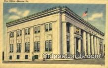 pst001434 - Altoona, PA USA,  Post Office Postcard, Postoffice Post Card Old Vintage Antique