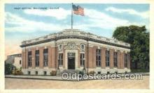 pst001435 - Belvidere, IL USA,  Post Office Postcard, Postoffice Post Card Old Vintage Antique