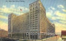 pst001438 - Chicago, IL USA,  Post Office Postcard, Postoffice Post Card Old Vintage Antique