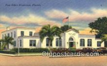 pst001448 - Bradenton, FL USA,  Post Office Postcard, Postoffice Post Card Old Vintage Antique