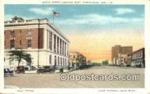 pst001452 - Tuscaloosa, AL USA,  Post Office Postcard, Postoffice Post Card Old Vintage Antique