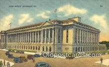 pst001455 - Louisville, KY USA,  Post Office Postcard, Postoffice Post Card Old Vintage Antique