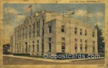 pst001457 - Alexandria, LA USA,  Post Office Postcard, Postoffice Post Card Old Vintage Antique