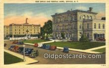 pst001460 - Oswego, NY USA,  Post Office Postcard, Postoffice Post Card Old Vintage Antique
