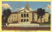 pst001461 - Poughkeepsie, NY USA,  Post Office Postcard, Postoffice Post Card Old Vintage Antique