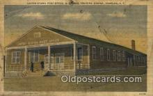 pst001464 - Sampson, NY USA,  Post Office Postcard, Postoffice Post Card Old Vintage Antique