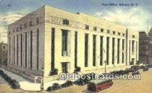pst001478 - Albany, NY USA,  Post Office Postcard, Postoffice Post Card Old Vintage Antique