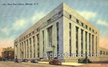 pst001479 - Albany, NY USA,  Post Office Postcard, Postoffice Post Card Old Vintage Antique