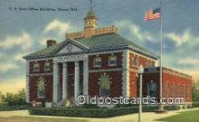 pst001486 - US Post Office Building Dover Delaware USA Postoffice Old Vintage Post Card Postcards