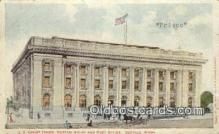 pst001489 - US court House Custom House And Post Office Seattle Washington USA Postoffice Old Vintage Post Card Postcards