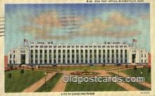 pst001498 - New Post Office Minneapolis Minn USA Postoffice Old Vintage Post Card Postcards