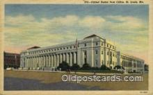 pst001501 - United States Post Office St Louis MO USA Postoffice Old Vintage Post Card Postcards