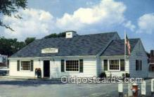 pst001504 - Picturesque Post Office Dennisport Mass USA Postoffice Old Vintage Post Card Postcards
