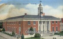 pst001513 - New Post Office building Wilmington NC USA Postoffice Old Vintage Post Card Postcards