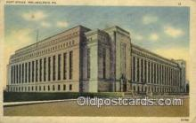 pst001515 - Post Office Philadelphia Pennsylvania USA Postoffice Old Vintage Post Card Postcards