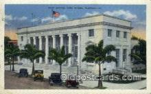 pst001519 - Post Office Fort Myers Florida USA Postoffice Old Vintage Post Card Postcards