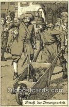 pun001003 - Punishment Tourcher Postcard Postcards