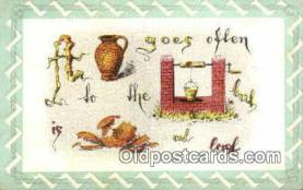 puz001009 - Puzzle Postcard Postcards