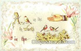 puz001024 - Puzzle Postcard Postcards