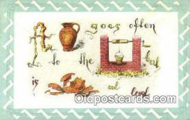 puz001038 - Puzzle Postcard Postcards