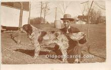 pwd002019 - People With Dogs Real Photo Postcard
