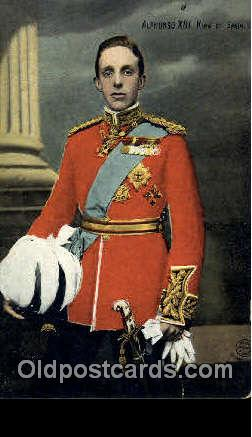 Alfonzo XIII, King of Spain
