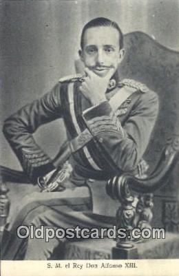 S.M. el Rey Don Alfonso XIII