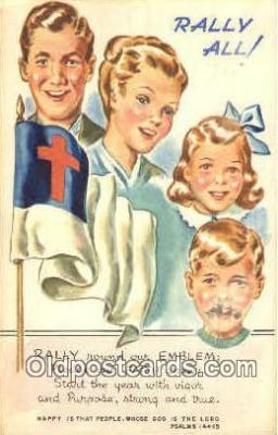 rad001002 - Psalms 144:15 Rally Day, Days Postcard Postcards
