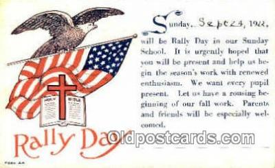 rad001027 - Rally Day, Days Postcard Postcards