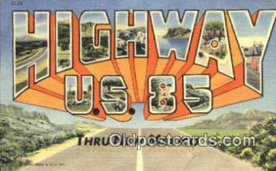 Highway U.S. 85